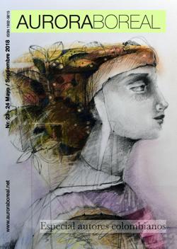 Revista Aurora Boreal® Especial autores colombianos. Número doble  23 y 24. Impresa